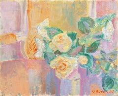 'Still Life of Roses', Paris Modernist, Royal Danish Academy of Fine Arts