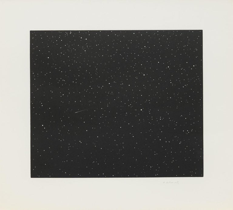 Comet - Print by Vija Celmins