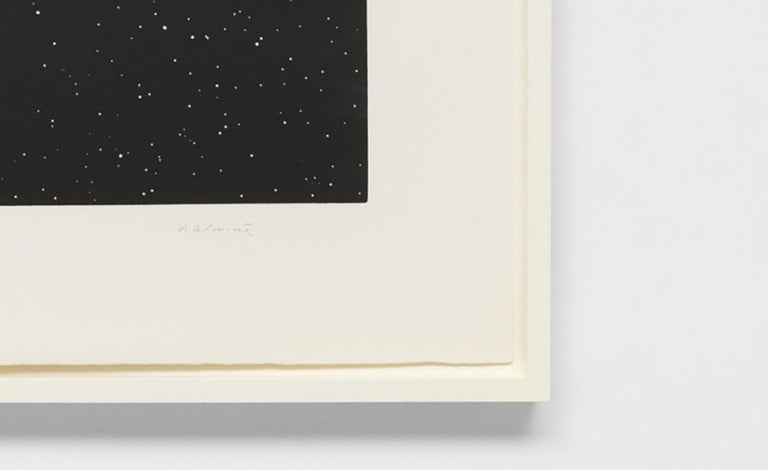 Comet - Contemporary Print by Vija Celmins