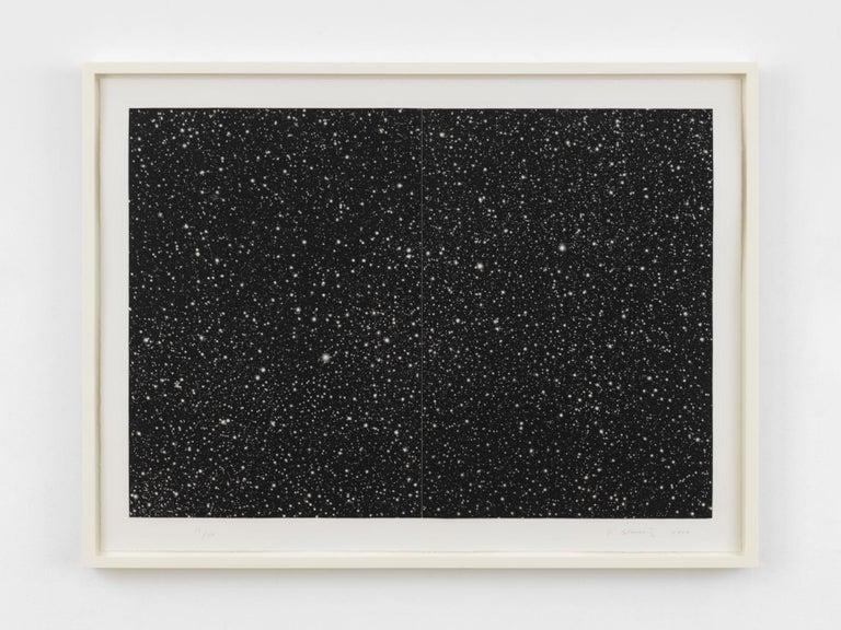 Vija Celmins Landscape Print - Starfield
