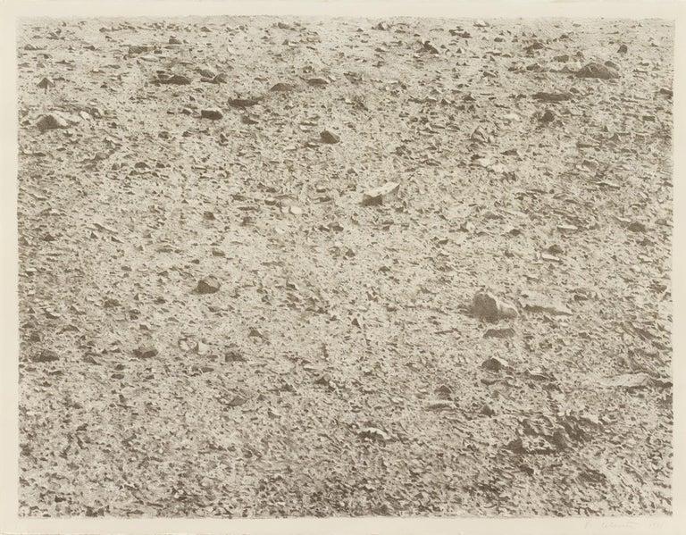 Vija Celmins Landscape Print - Untitled (Large Desert)