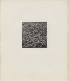 Untitled (Ocean Woodcut)