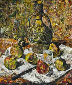 Moroccan Jugs and Pears, after Félix Vallotton (Pictures of Magazines 2