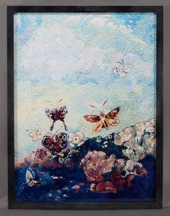 Butterflies, after Odilon Redon