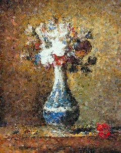 Flowers in Blue and White Vase, after Chardin (from Pictures of Magazine)