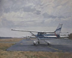 East Hampton Airport Ramp