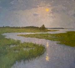 Full Moon Over Shelter Island