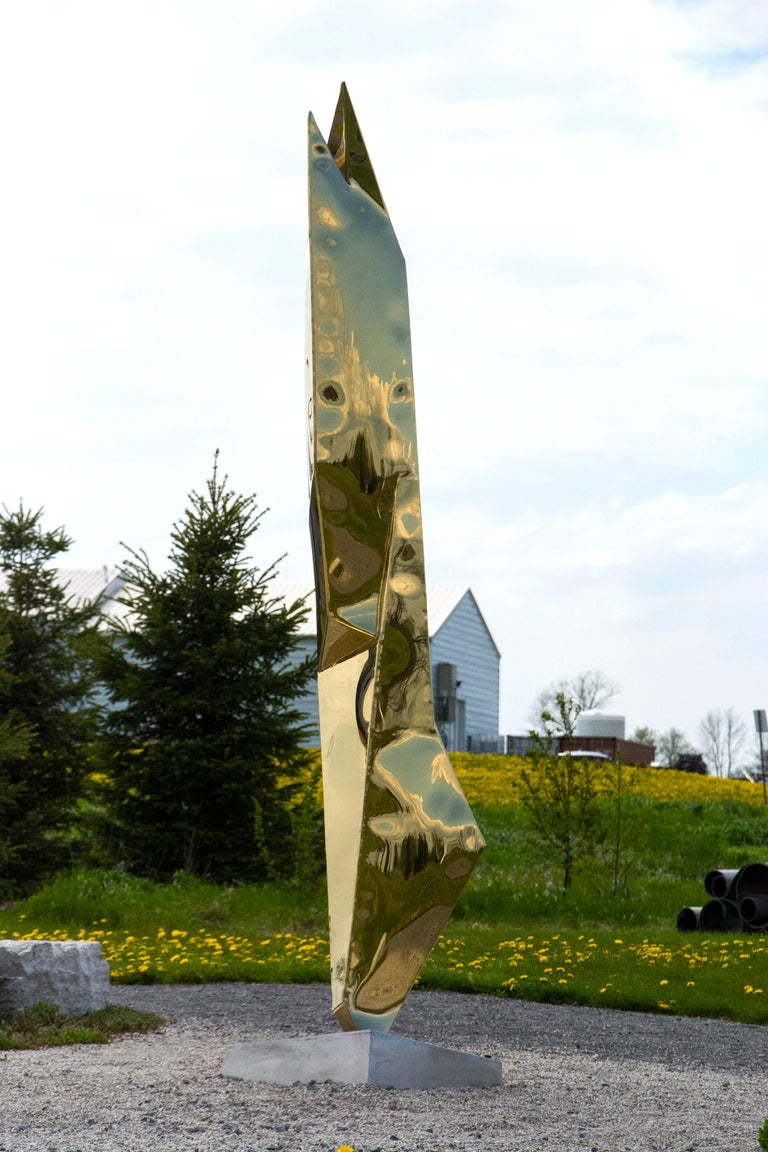 Fragment - Contemporary Sculpture by Viktor Mitic