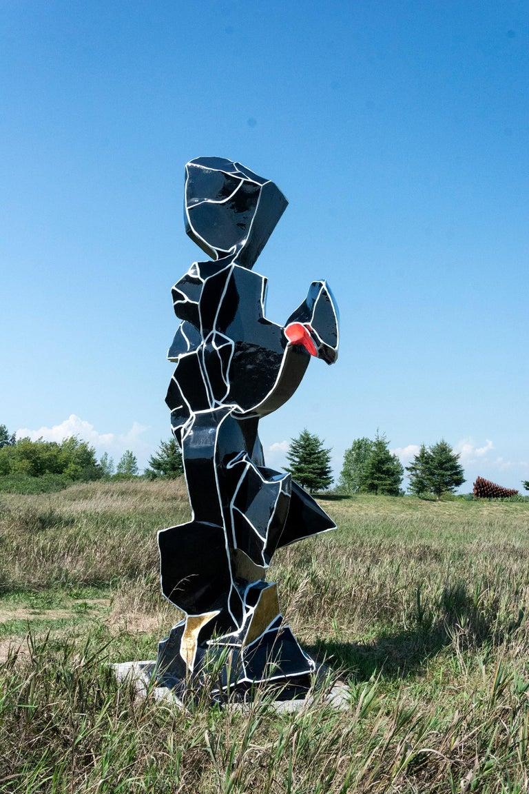 Viktor Mitic Abstract Sculpture - Presence