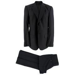 Viktor & Rolf Dark Grey Two Piece Single Breasted Suit - Size L EU 50