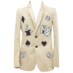 Viktor & Rolf Runway Men's Embroidered & Diamante Sport Coat, Spring 2005