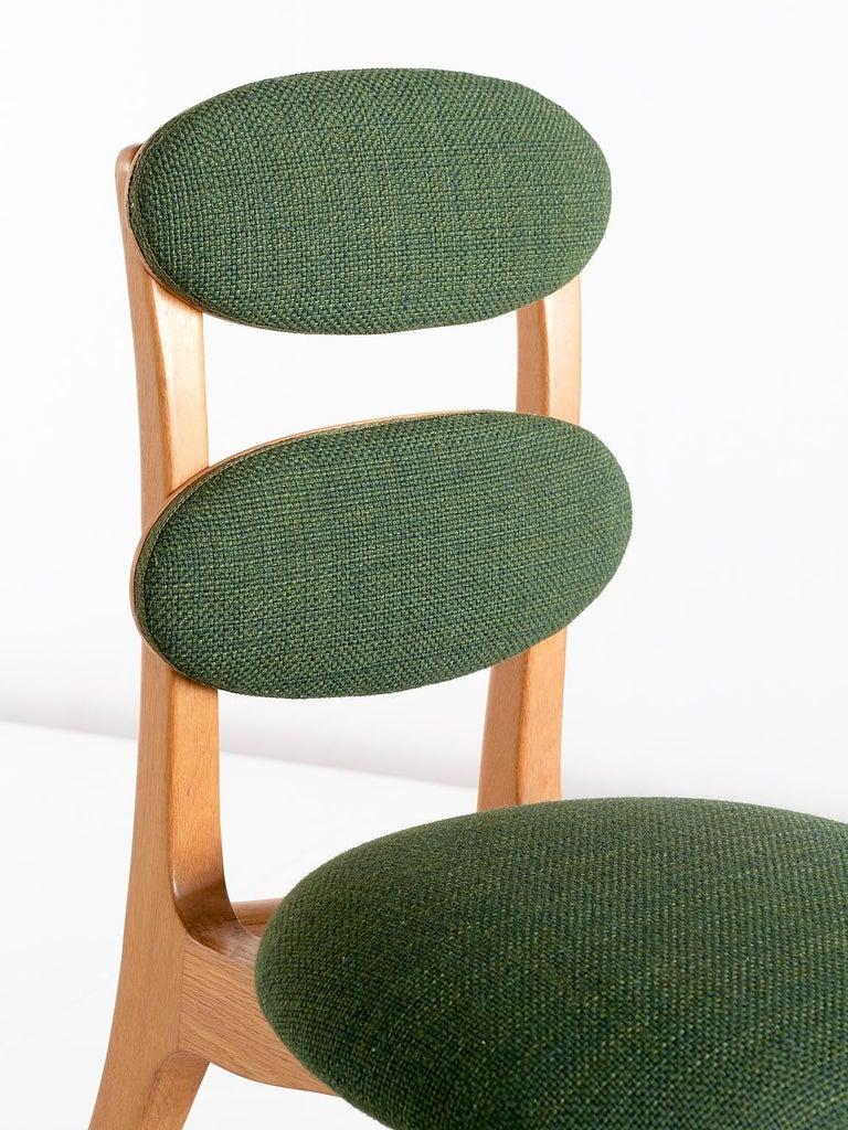Vilhelm Lauritzen Musician Chair in Oak, Designed for Radiohuset, Denmark, 1950s For Sale 3
