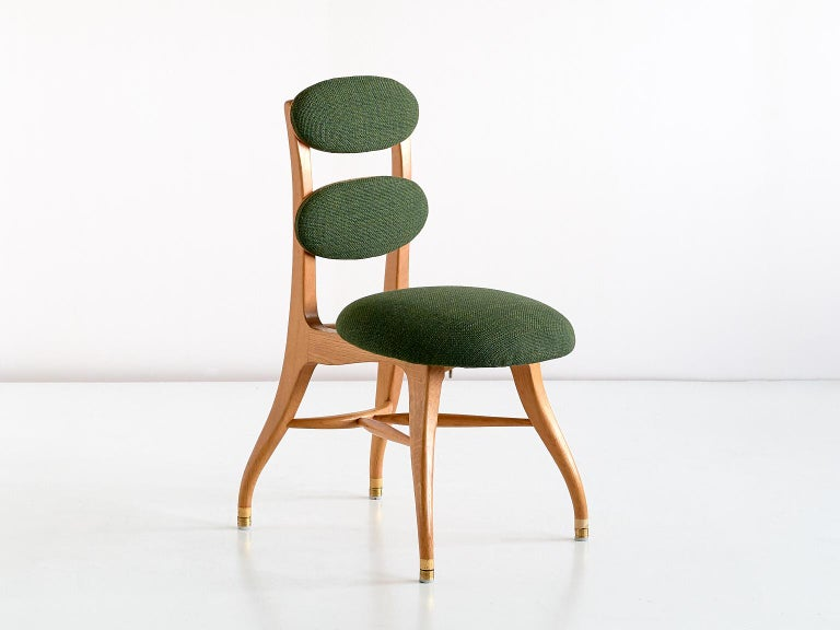 Danish Vilhelm Lauritzen Musician Chair in Oak, Designed for Radiohuset, Denmark, 1950s For Sale