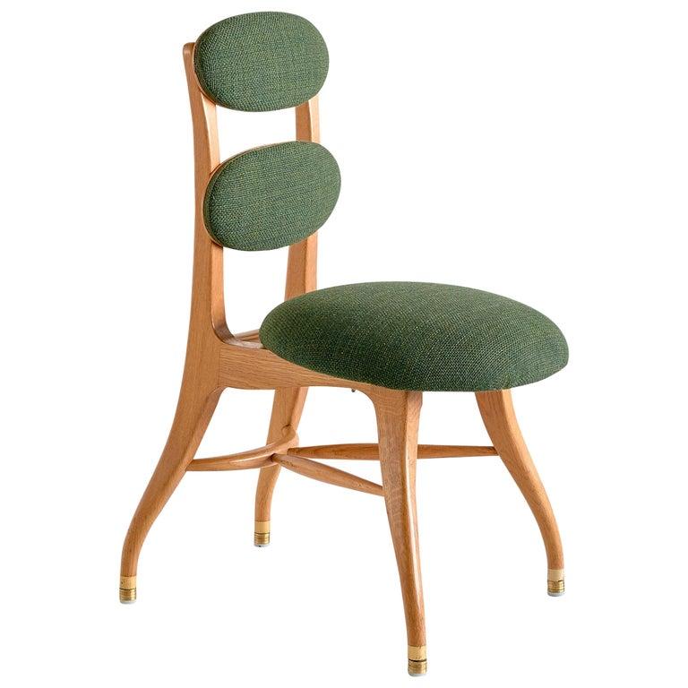 Vilhelm Lauritzen Musician Chair in Oak, Designed for Radiohuset, Denmark, 1950s For Sale