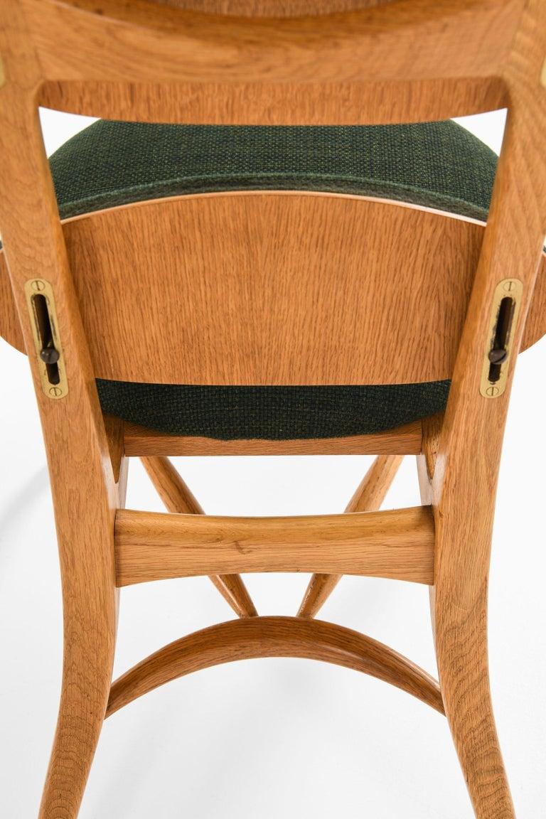 Mid-20th Century Vilhelm Lauritzen Musician Chair Produced in Denmark