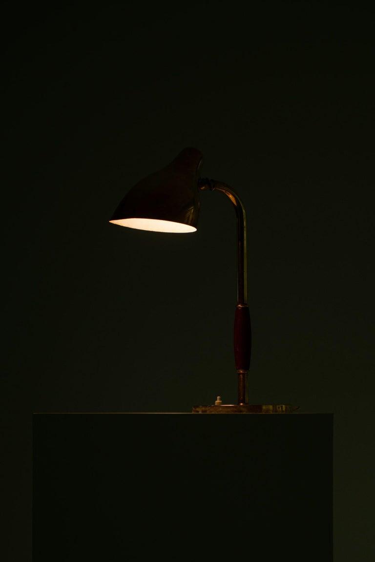 Vilhelm Lauritzen Table Lamp Produced by Louis Poulsen in Denmark For Sale 1