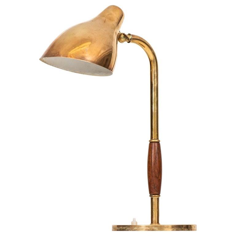 Vilhelm Lauritzen Table Lamp Produced by Louis Poulsen in Denmark For Sale