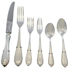 Villa d'Este by Buccellati Italy Sterling Silver Flatware 8 Set 52 Pcs Dinner