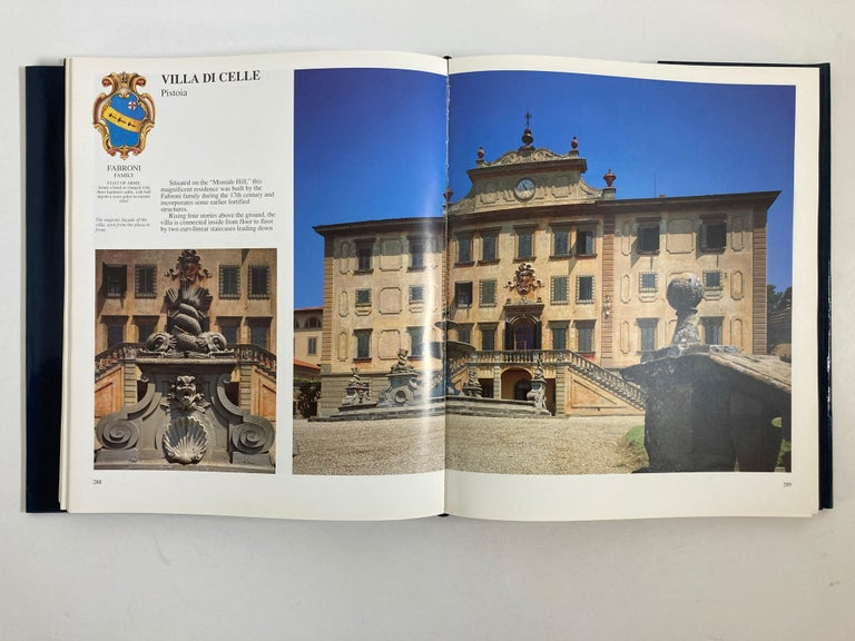 Villas of Tuscany Hardcover Hardcover Book 5