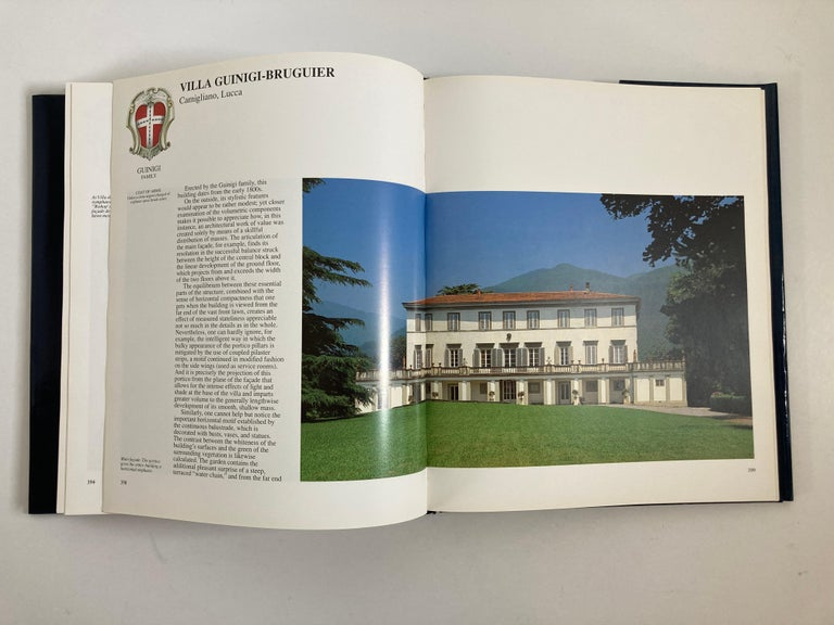 Villas of Tuscany Hardcover Hardcover Book 10