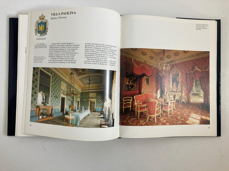 Villas of Tuscany Hardcover Hardcover Book 11