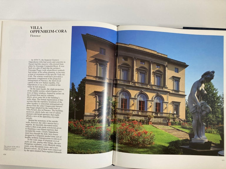 Villas of Tuscany Hardcover Hardcover Book 12
