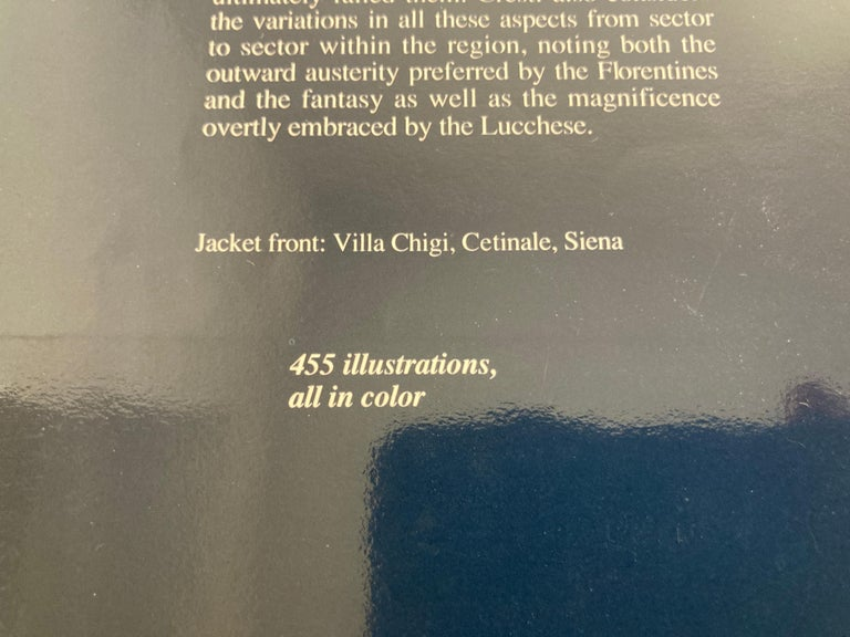 20th Century Villas of Tuscany Hardcover Hardcover Book