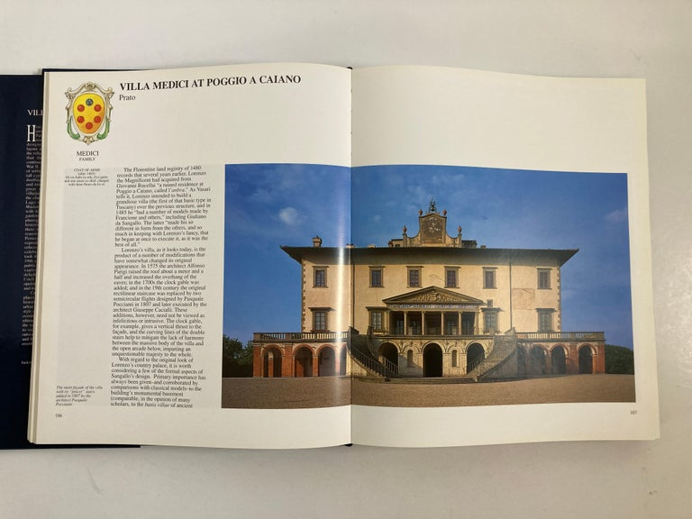 Villas of Tuscany Hardcover Hardcover Book 2
