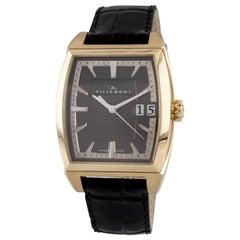 Villemont Aston T Big Date 18 Karat Yellow Gold Automatic Watch Serial #10003