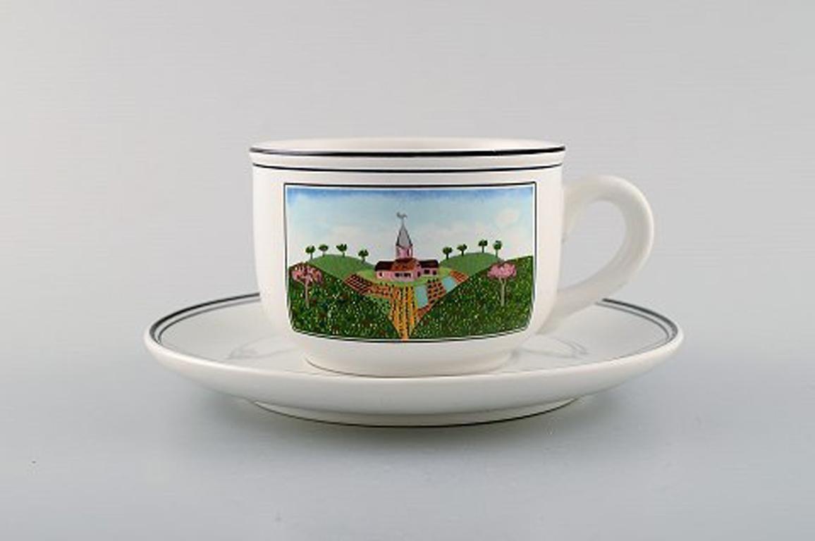 V/&B Porzellan Villeroy /& Boch Naif 1 Teetasse  8,5 x 6 cm