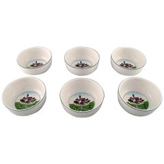 Villeroy & Boch Naif Dinner Service in Porcelain, a Set of 6 Bowls