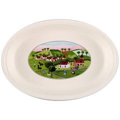 Villeroy & Boch Naif Dinner Service in Porcelain, Oven Proof Dish