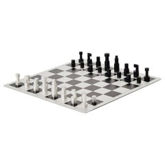 Vilmos Huszár Chess Game, Holland 1973 De Stijl