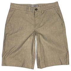 VINCE Size 28 Slate Cotton Zip Fly Shorts
