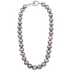 Vincent Peach Signature South Sea Tahitian Pearl Princess Strand Necklace