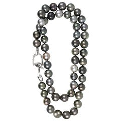 Vincent Peach South Sea Tahitian Pearl Strand Necklace