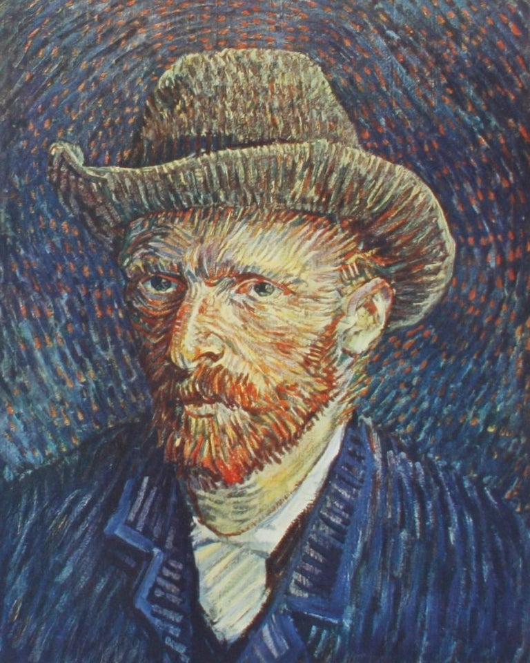 North American Vincent Van Gogh Paintings and Drawings by L. Goldscheider and W. Uhde For Sale