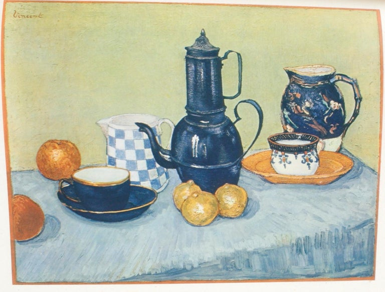 Paper Vincent Van Gogh Paintings and Drawings by L. Goldscheider and W. Uhde For Sale
