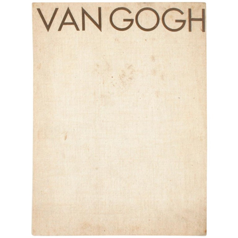 Vincent Van Gogh Paintings and Drawings by L. Goldscheider and W. Uhde For Sale