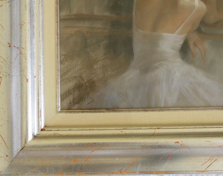 REFLECTIVE  MOMENTS .   Vicente Romero Redon Spanish contemporary artist For Sale 2