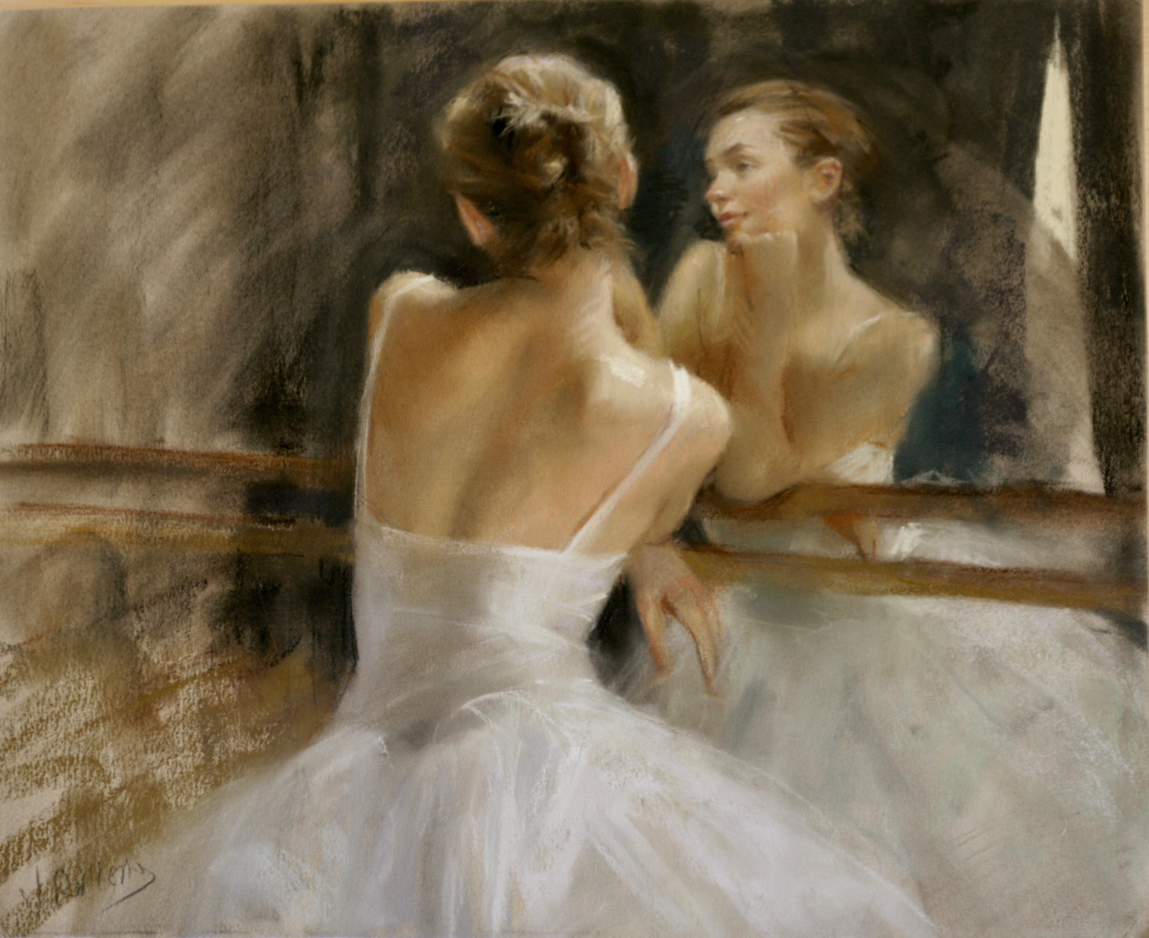 REFLECTIVE  MOMENTS .   Vicente Romero Redon Spanish contemporary artist