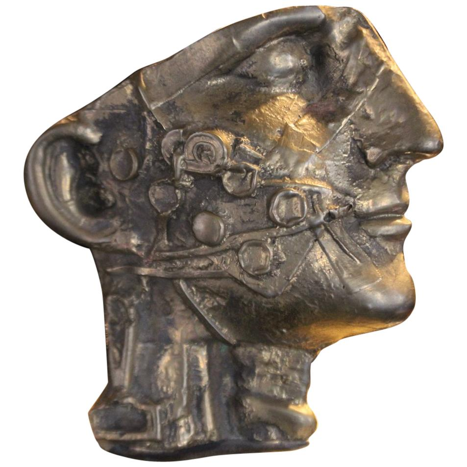 Vincenzo Eulissi 1970 Bronze Modern Sculpture in Lost Wax