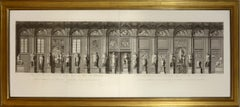Feoli, Vedute del Museo Pio-Clementino, double page engravings, 1790