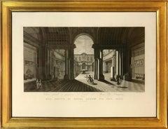 Feoli, Vedute del Museo Pio-Clementino, engravings, 1790