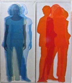 Artificial Figures  - Original Mixed Media by Vincenzo Ceccato - 2008