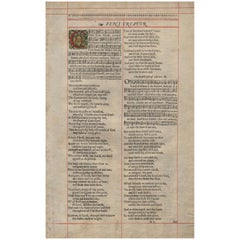 """Vini Creator"", 1638 King James Bible, Cambridge Ed., Whole Book of Psalms P.1"