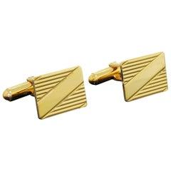 Vintage 10 Karat Gold Larter & Sons Cufflinks 7.80 Grams No Monogram