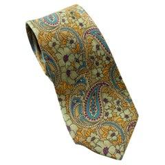 Vintage 100% silk tie by James Dillon