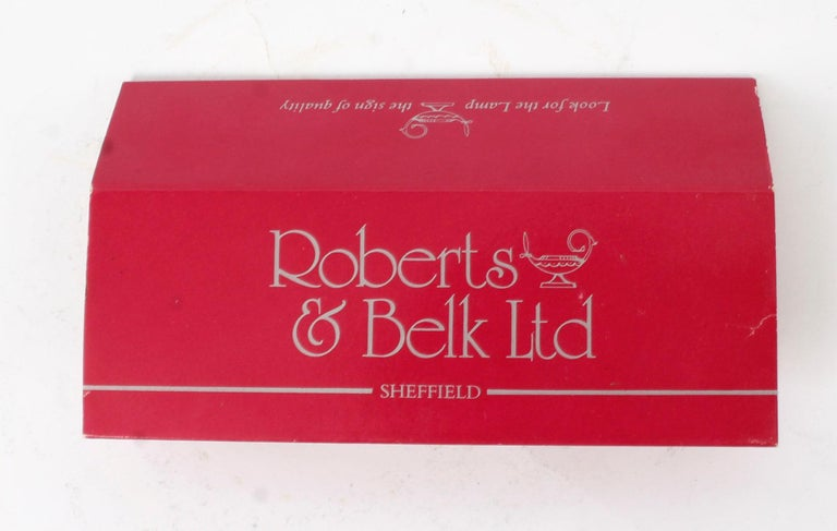Vintage 12 Place Settings Roberts & Belk 154 Piece Canteen of Cutlery, 1981 For Sale 8