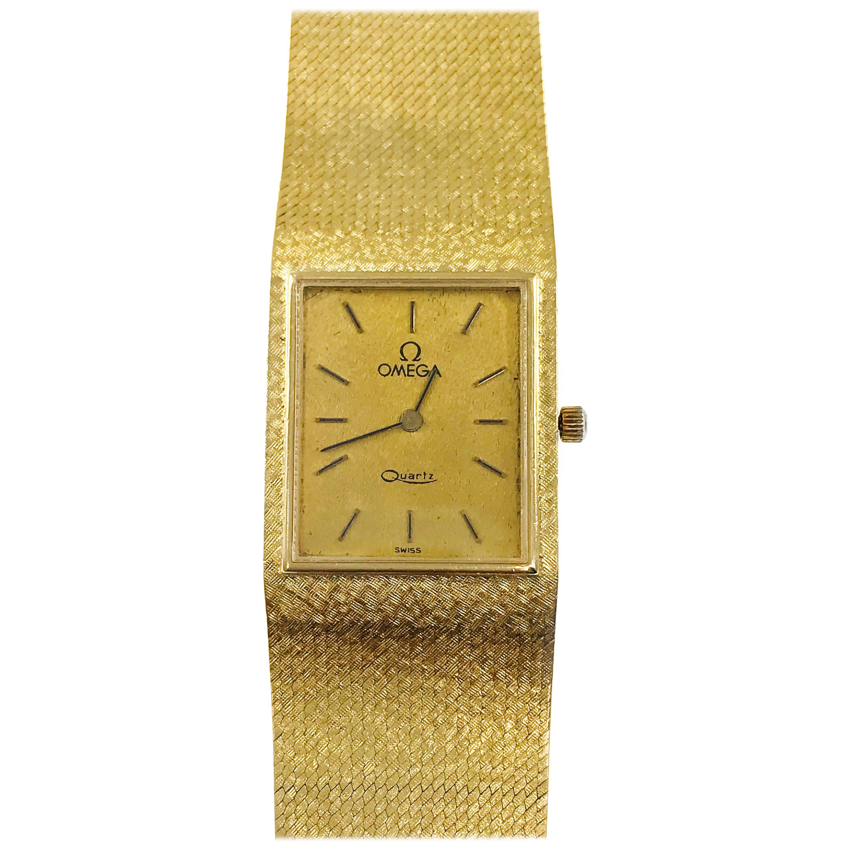 Vintage 14 Karat Omega 6 Jewel Watch